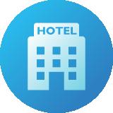 ホテルシステムのアイコン