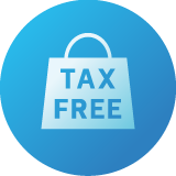 免税電子化対応のアイコン
